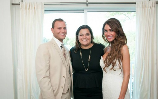 Planner with Bride & groom